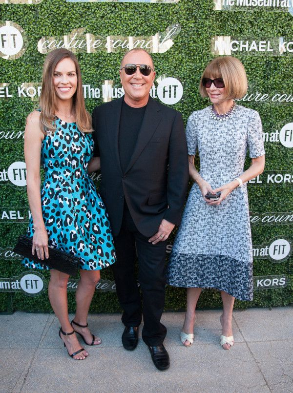 (2013 Couture Council Fashion Visionary Awards Honors Michael Kors, Anna Wintour & Hilary Swank