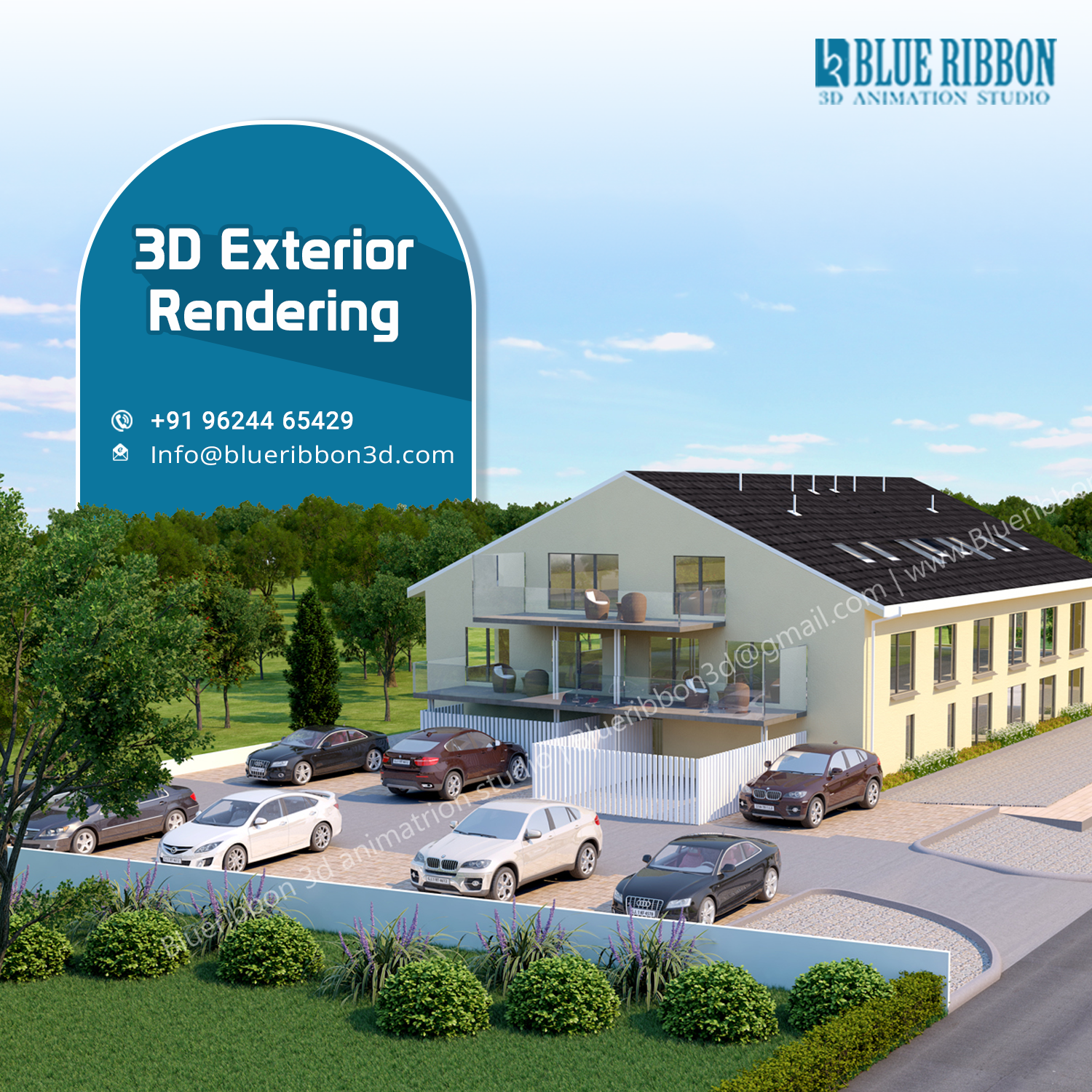 Residential Exterior Services: Covert Your Ideas Into Reality With 3D Rendering Services