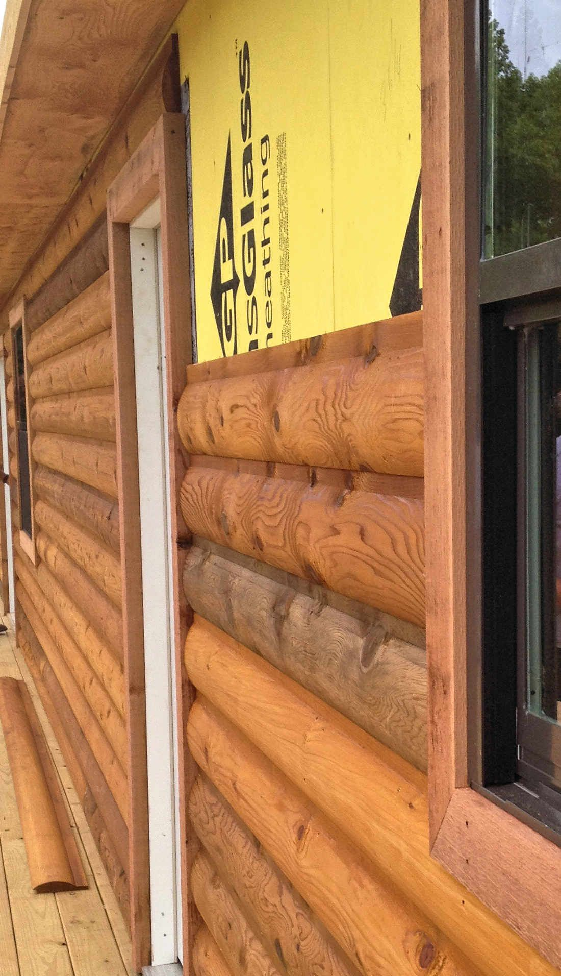 Wood Siding Installation Tips Log Cabin Siding Log Cabin Rustic Log Cabin Kits