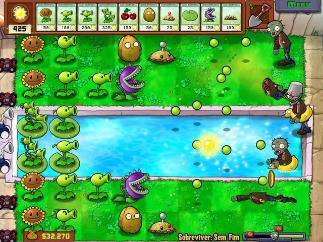Plantas vs Zumbis Deluxe - Jogue esse jogo e relaxe na Zylom