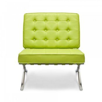 Magnificent Style Apple Green Barcelona Chair Barcelona Furnishings Squirreltailoven Fun Painted Chair Ideas Images Squirreltailovenorg