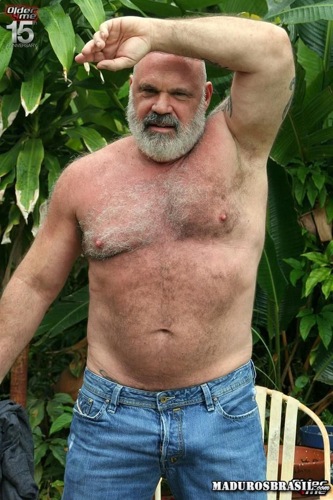 Old gay hairy men
