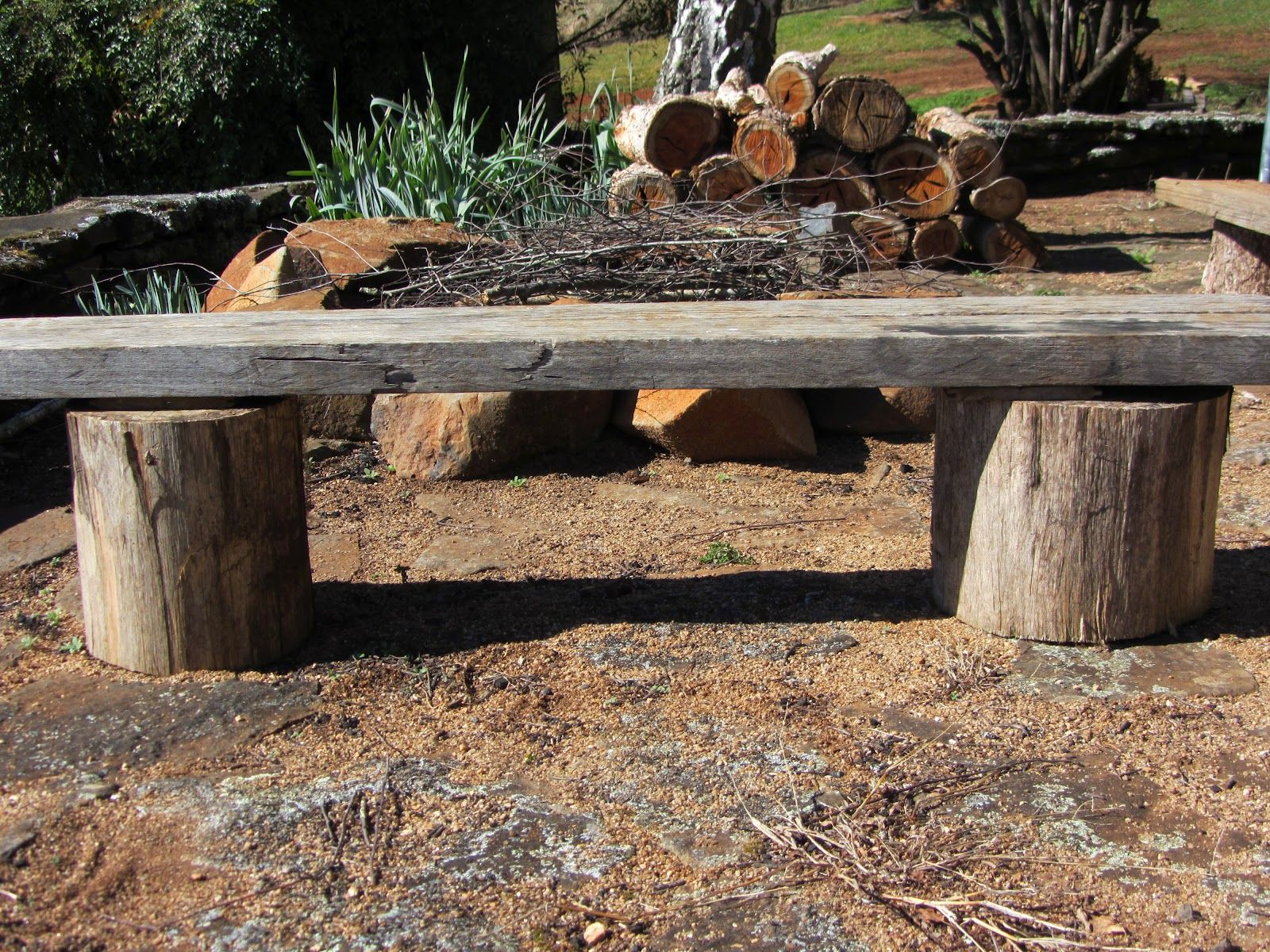Outdoor Fire Pit Plans | thom haus handmade: No-Fuss ...