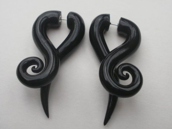 The perfect solution to wanting gauges but still wanting to be able to wear all your normal earrings