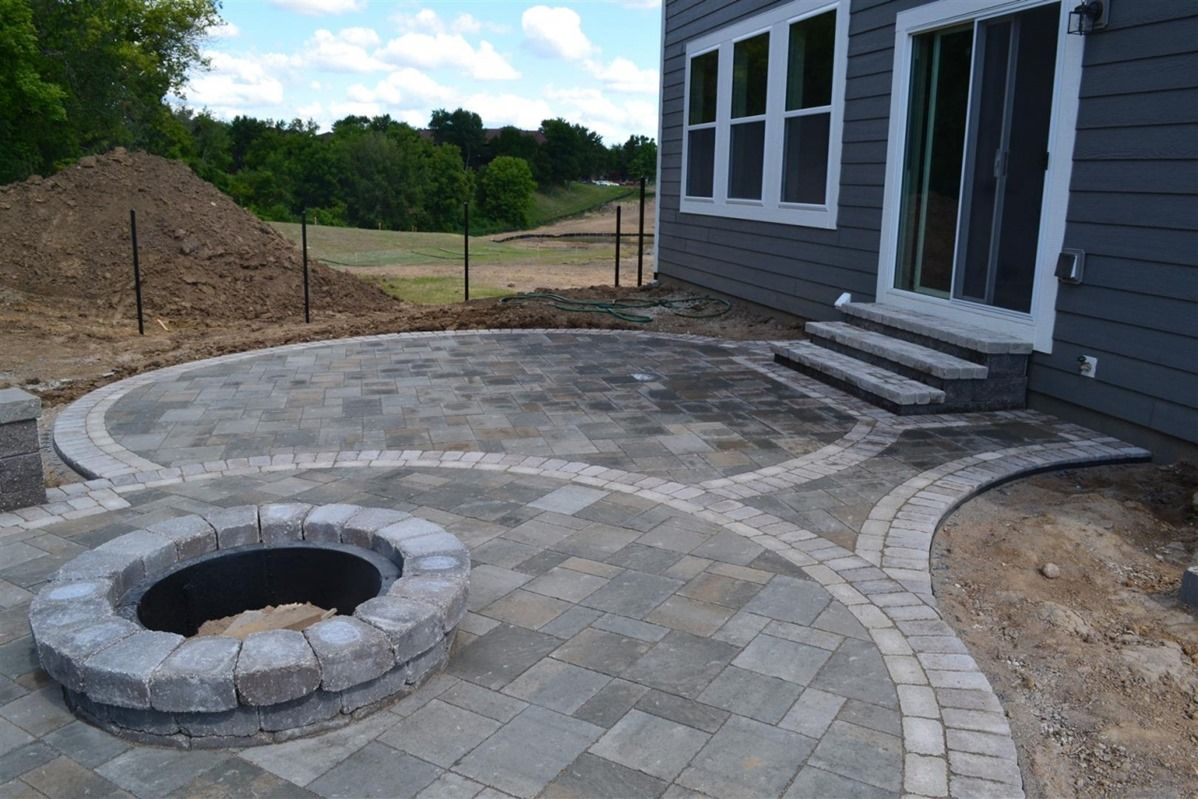 Brick Patio Ideas With Fire Pit Brick Patio Designs With Fire Pit .