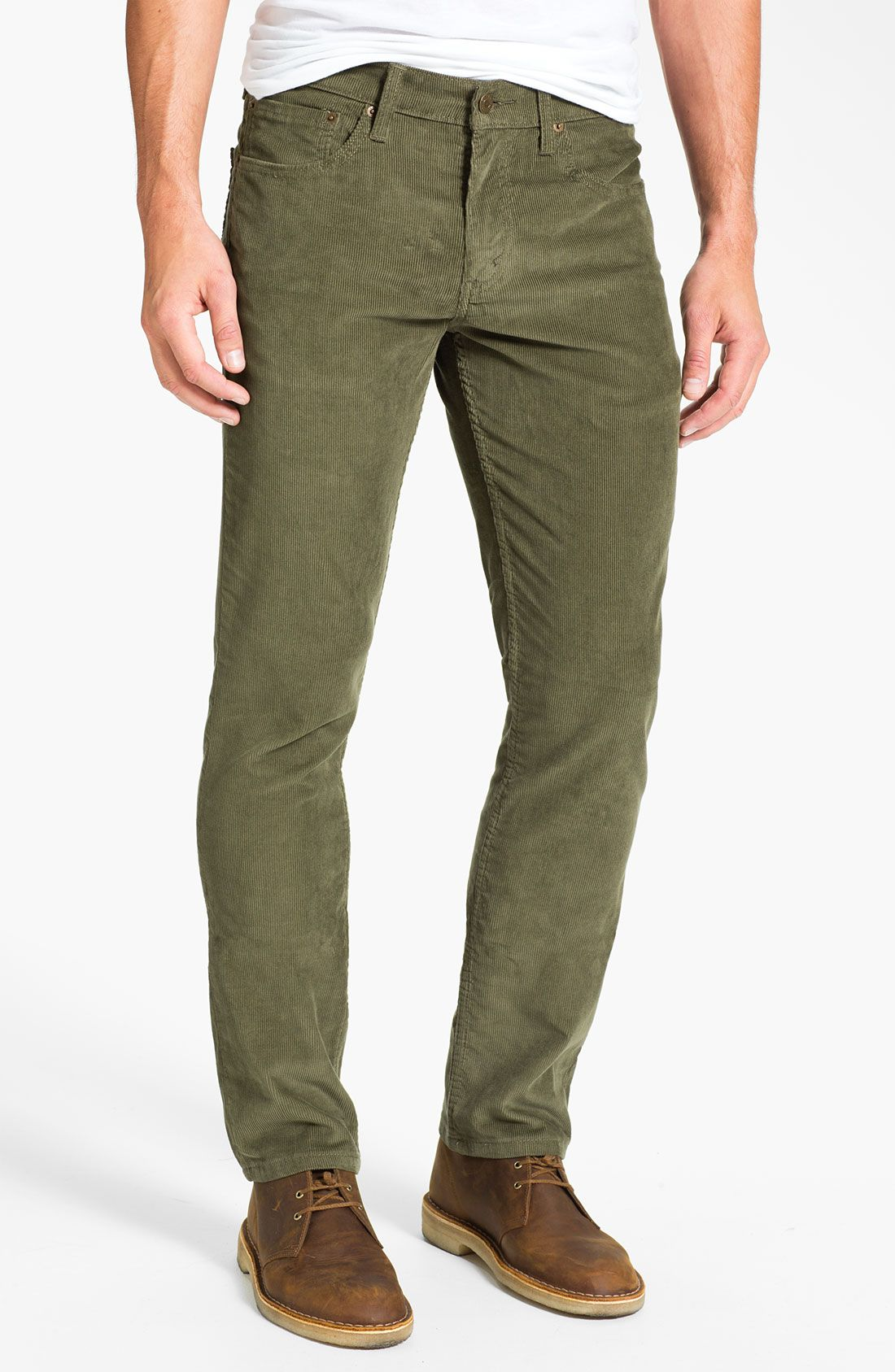 Mens Corduroy Pants & Trousers While styles have evolved through the decades, some fashions have remained timelessly cool. Despite the fads of couture, corduroy pants have endured as a staple of both style and comfort in men's fashion.