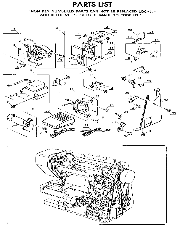 Motor Assembly Diagram Parts List For Model 38519150090 Kenmore