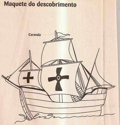 Amiga Da Educacao Descobrimento Do Brasil Maquete Do