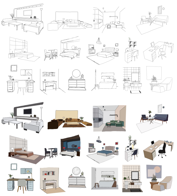 Pin by BlastBeatMedia on After Effects Templates | Drawing interior
