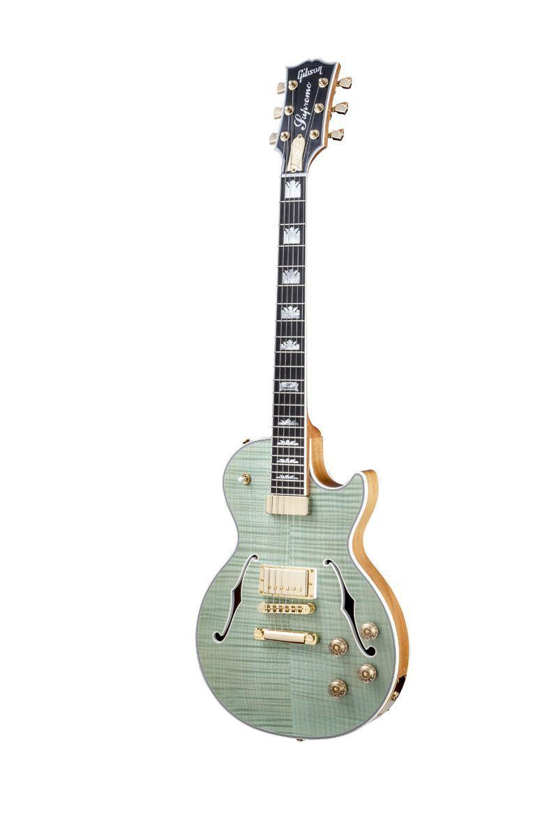 GIBSON Les paul supreme 2014 seafoam green shaded back chrome - Guitares électriques - LP | Woodbrass.com