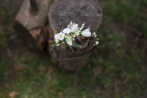 Headband flower spring headband floral by MagaelaAccessories