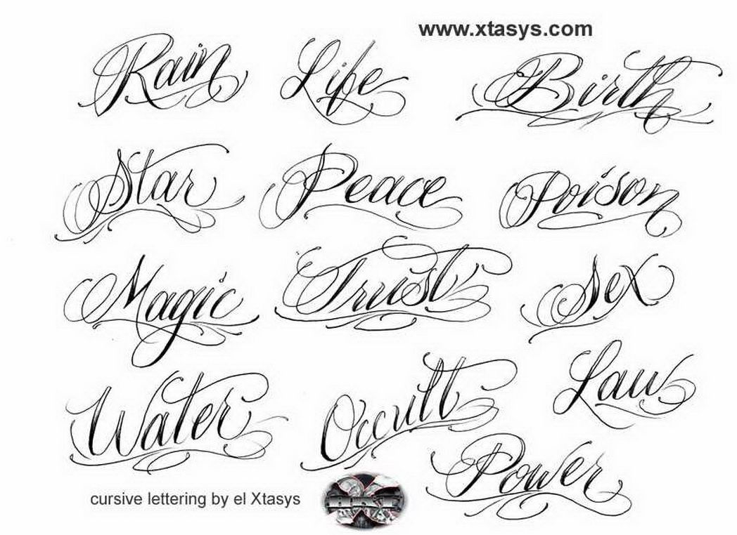 cursive-letters-for-tattoos-about-tattoo-lettering-tribal ...