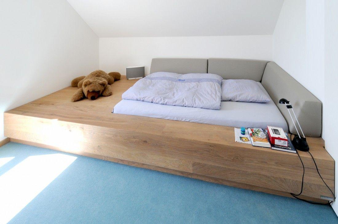 g stebett mit eingelassenem bettkasten inkl polsterung. Black Bedroom Furniture Sets. Home Design Ideas