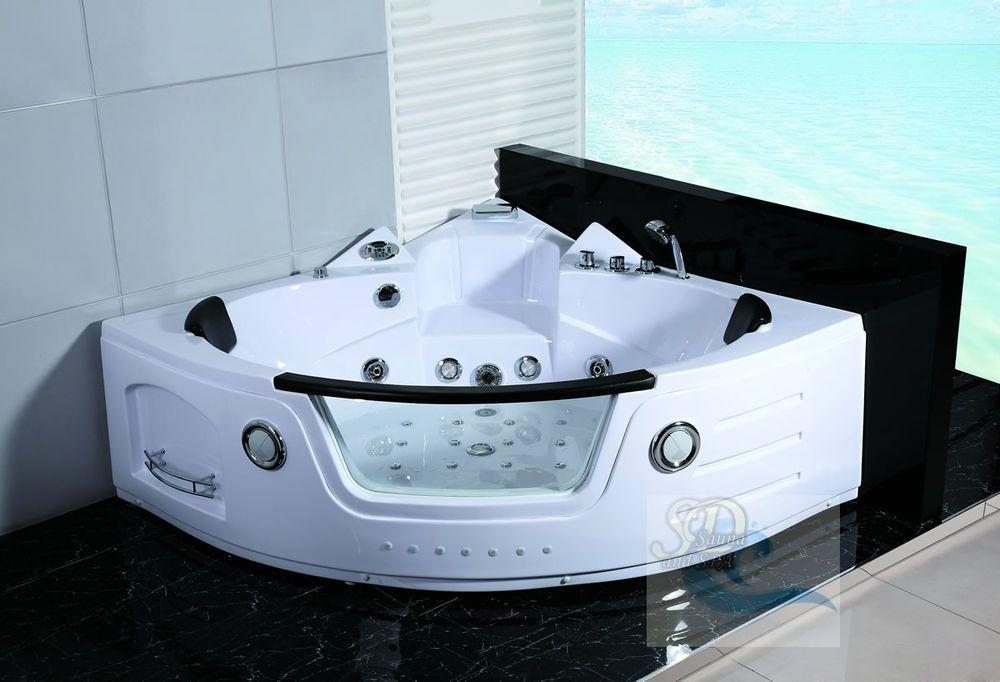 New 2 Person Jacuzzi Whirlpool Massage Hydrotherapy Bathtub Tub ...