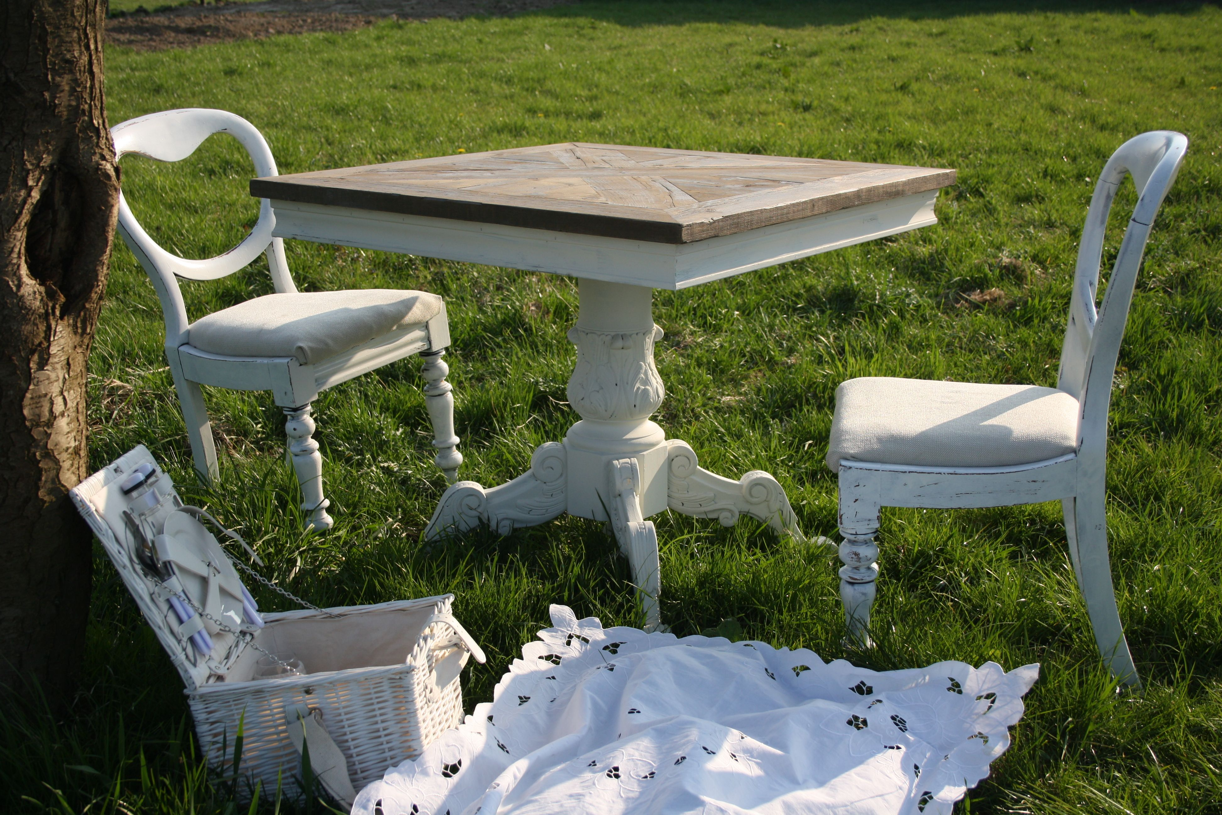 Enjoy Spring! Driftwood Baroque KitchenTable