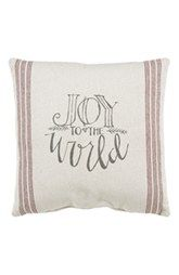 Primitives by Kathy 'Joy to the World' Pillow