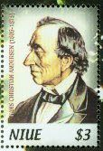 Literary Stamps: Andersen, Hans Christian (1805 – 1875)