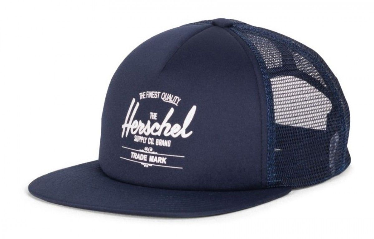 4d0b933925e6c Herschel Whaler Mesh Hat Poly Navy