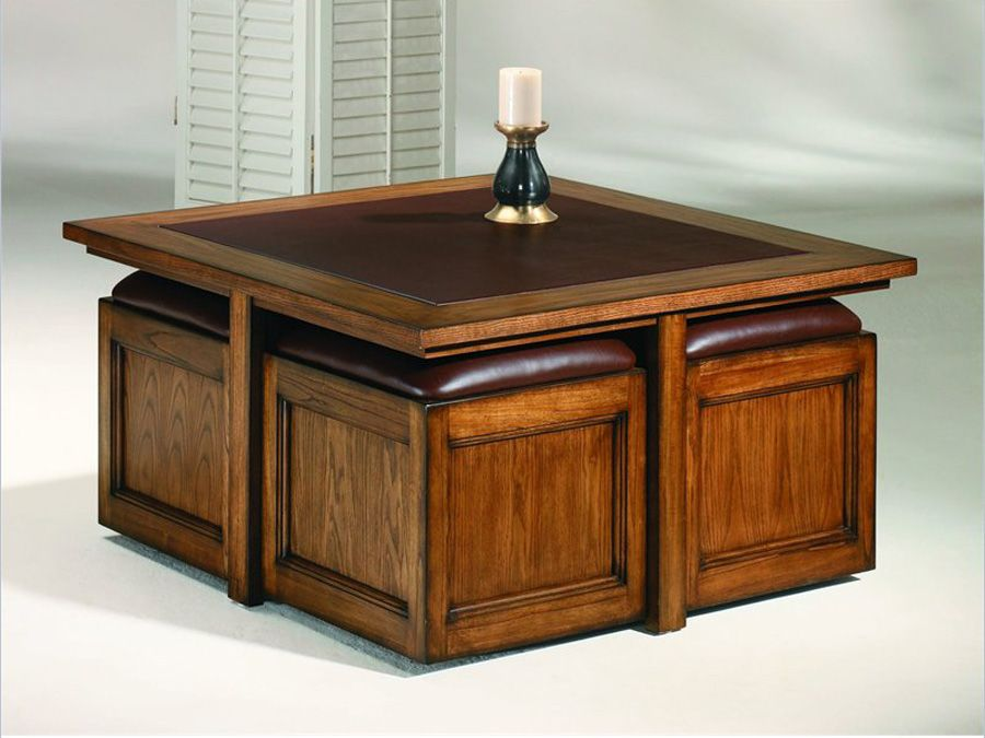 SquareCoffeeTablewithStorageCubesjpg Home Decor - Square coffee table with storage cubes
