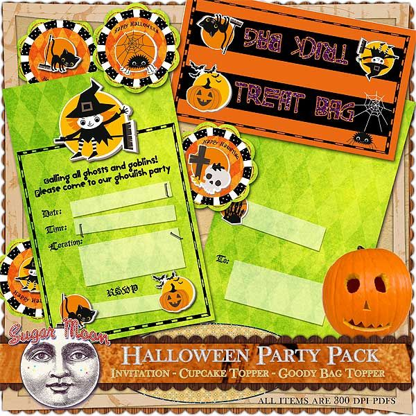 FREE Halloween Party Pack Download
