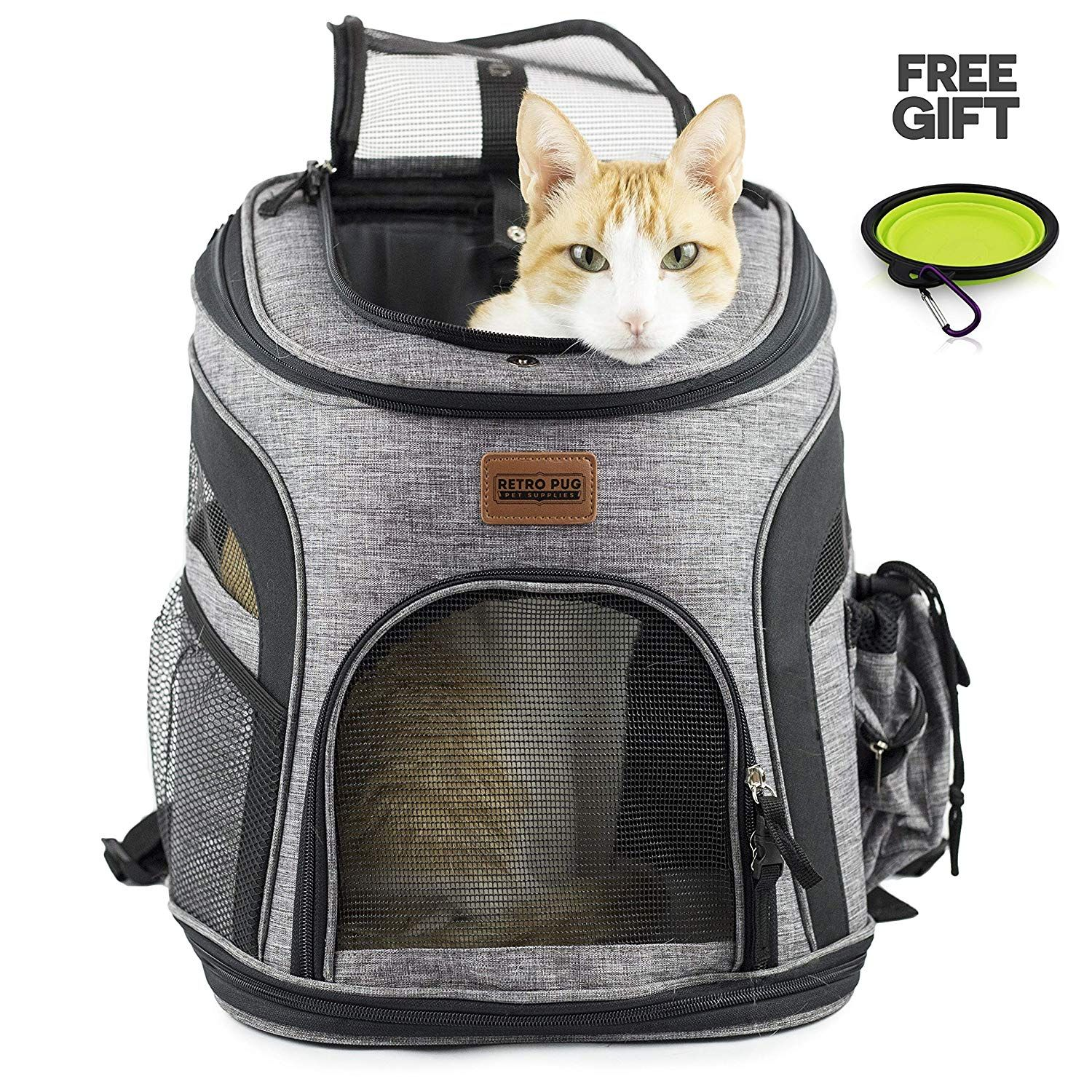 Airline Approved Pet Carrier For Cats And Small Breed Dogs Up To 10 Lbs A Great Idea For Travel Hiking Pet Backpack Carrier Cat Carrier Cat Backpack Carrier