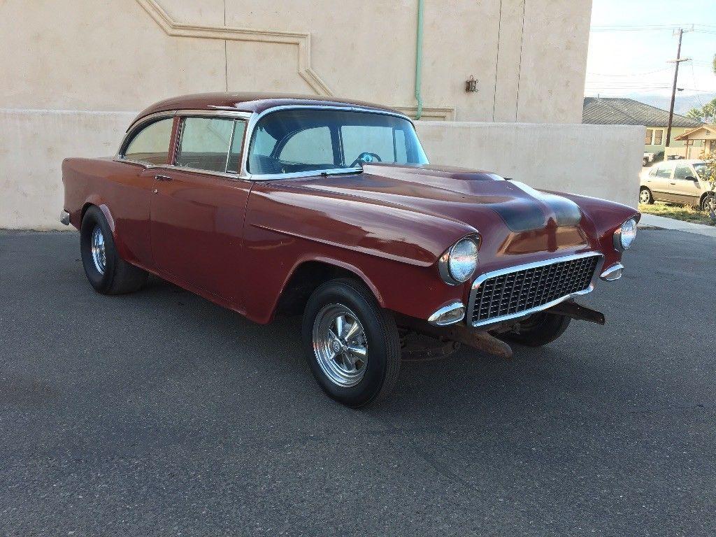 barn find survivor 1955 Chevrolet Bel Air/150/210 hot rod | Hot rods ...