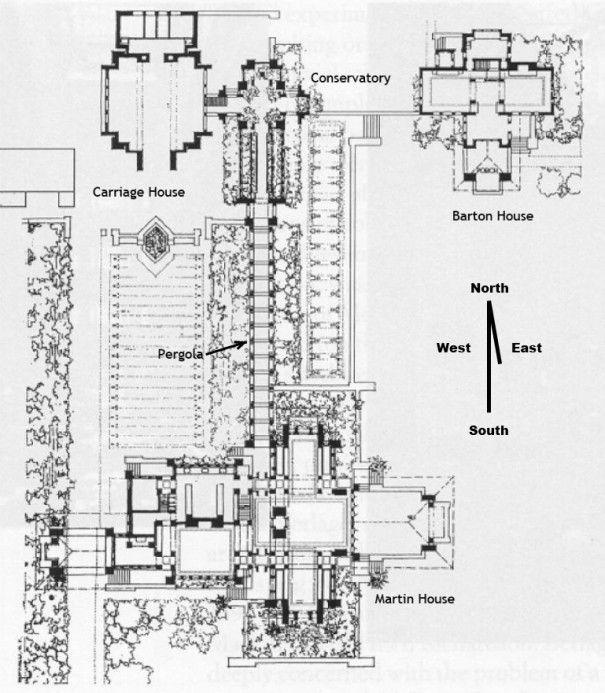 Frank Lloyd Wright's Magnificent Darwin Martin House in Buffalo NY