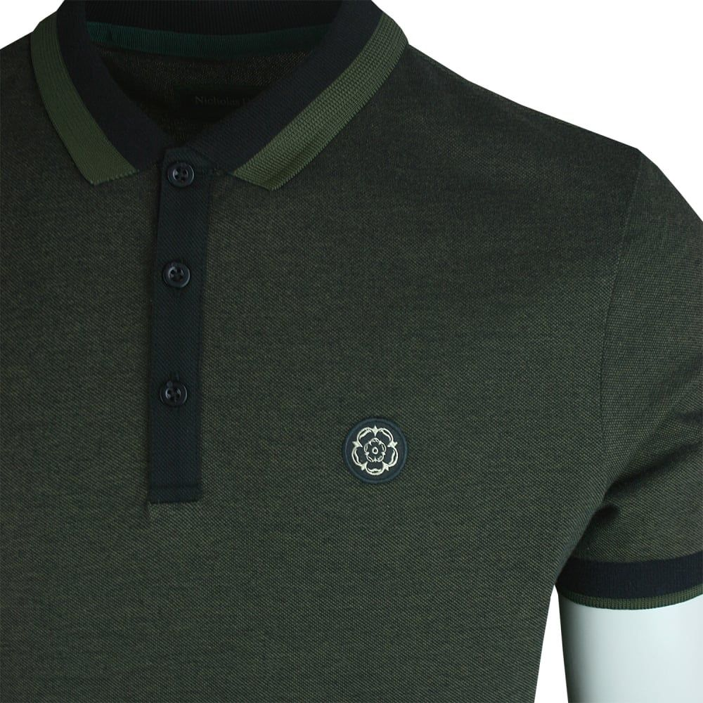 a2276ee2c Buy Mens Nicholas Deakins Travel Polo from Vault Menswear UK ...