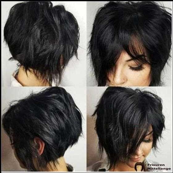 Schmeichelhaft Geschichtete Kurze Haarschnitte Fur Dickes Haar Kurzhaarschnitt Fur Dickes Haar Kurzhaarschnitte Haarschnitt Kurz
