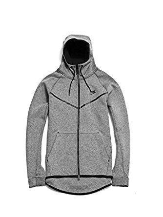 125fa32094494 Nike Mens Sportswear Tech Fleece Windrunner Hooded Sweatshirt at ...