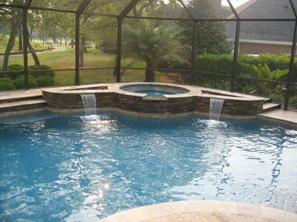 Jacksonville Swimming Pool U0026 Spa Photo Gallery | View Pictures Of Custom  Pools U0026 Spas, Paver Decks, Waterfalls, Screen Enclosures, Firepits