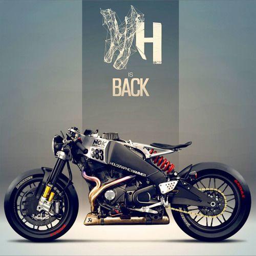 Buell XB12S holográfica martillo Más bicicletas aquí. | manuel ...