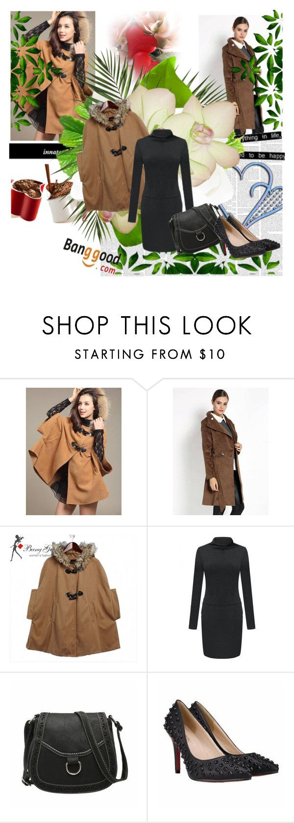 """""""BANGGOOD"""" by newoutfit ❤ liked on Polyvore featuring Victoria Beckham, women's clothing, women, female, woman, misses and juniors"""