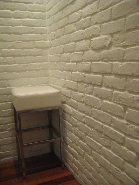 White Brick Wall At Mbco Fake Brick Wall Faux Brick Walls