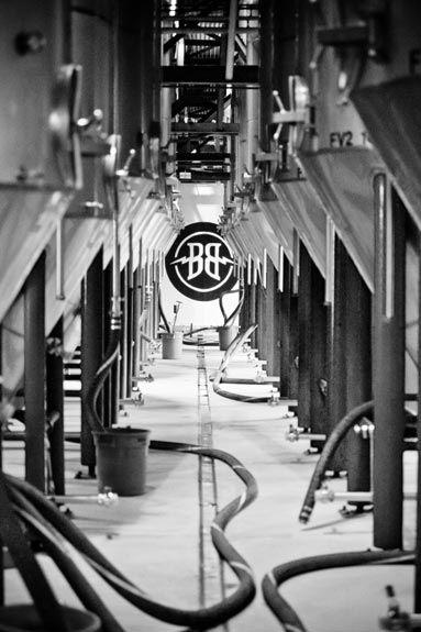 Fermenter Tanks at Breckenridge Brewery