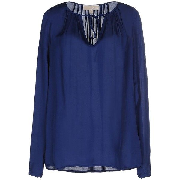 c91551fb7960a Michael Michael Kors Blouse ( 160) ❤ liked on Polyvore featuring tops