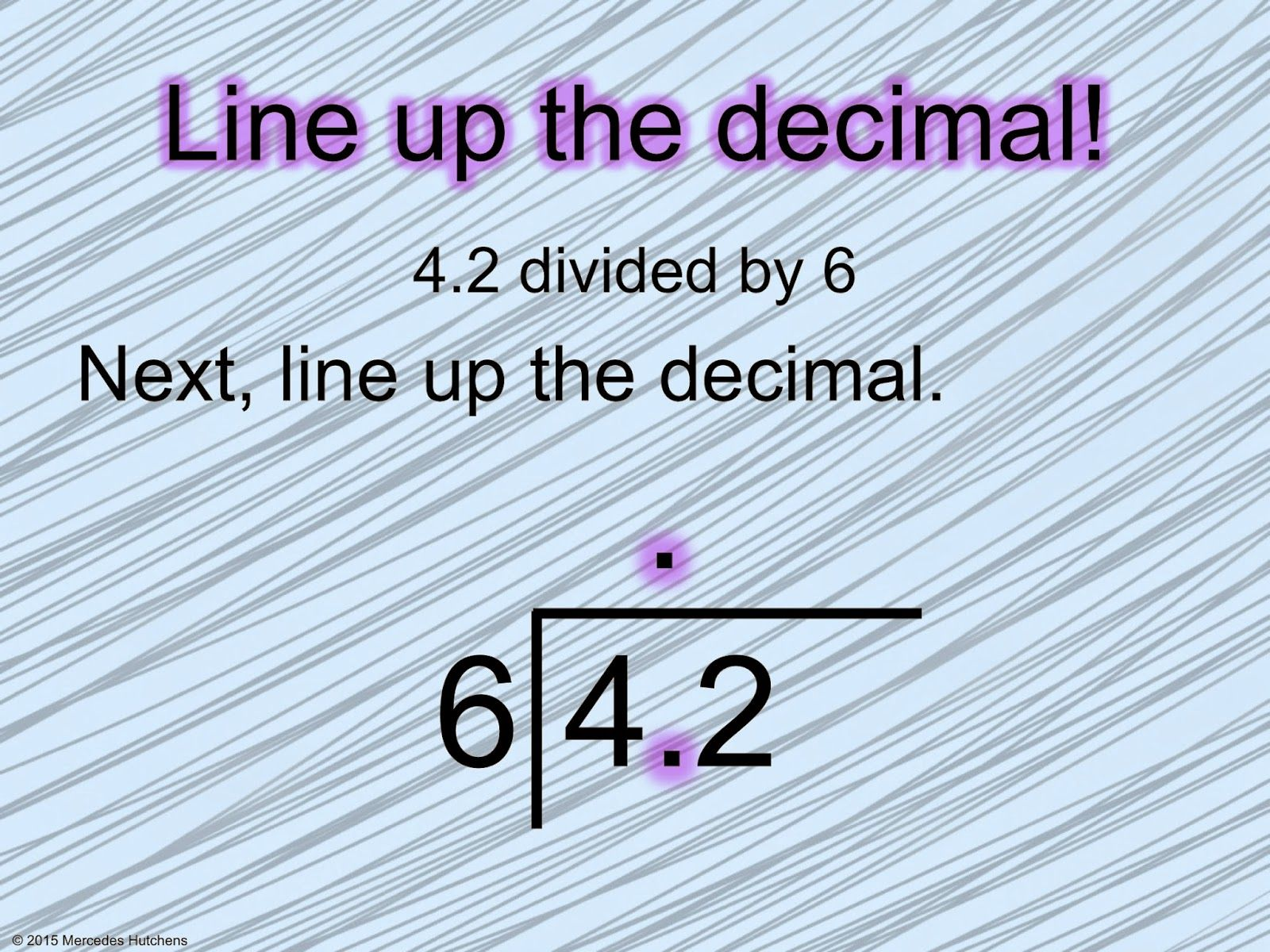 Free Dividing Decimals Worksheets