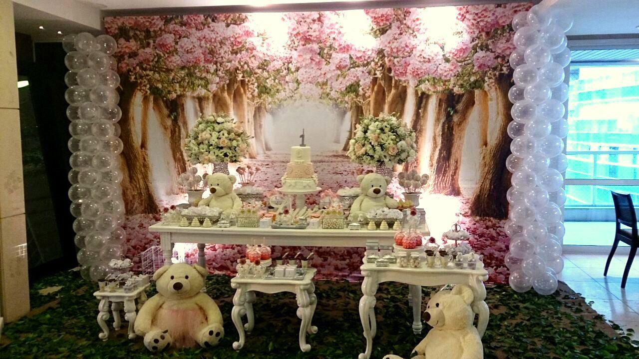 Festa Infantil Floresta Das Ursas Party Ursinhas Aniversario