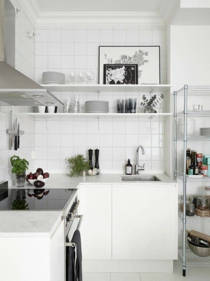 Cocinas pequeñas ideas interesantes de diseño | Cocina | Pinterest ...
