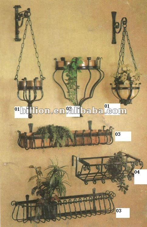 Great Wrought Iron Decor Garden | ... Decorative Iron Crafts Flower Shelf For  Garden Flower