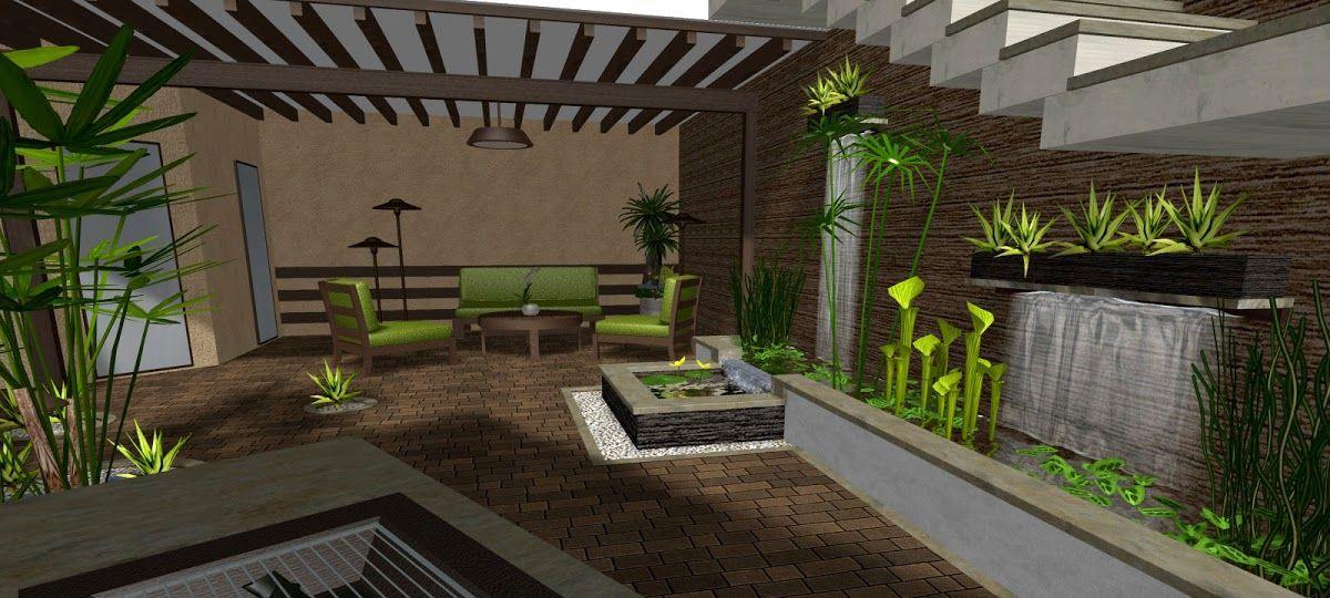 Jardines 10 ideas grandes para jardines peque os - Jardines pequenos de casas ...