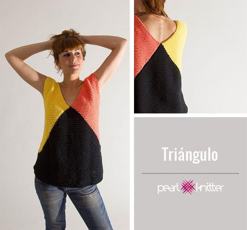 Qué prendas tejer con algodón | tejido | Pinterest | Ganchillo ...