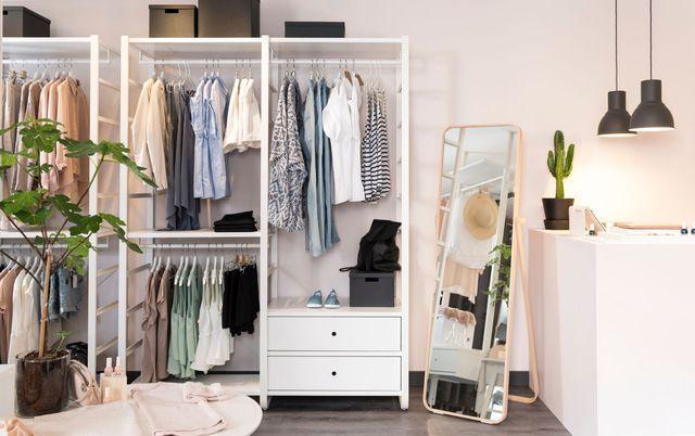 dressing pour ranger sa chambre coucher les mod les du moment rangement dressing sous. Black Bedroom Furniture Sets. Home Design Ideas