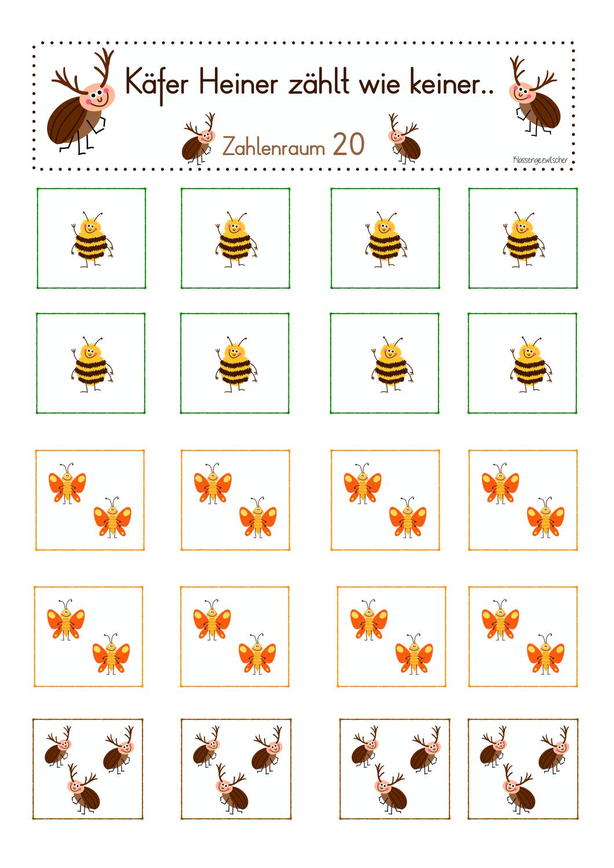 Insekten Arbeitsblatt   Seno Unggaran