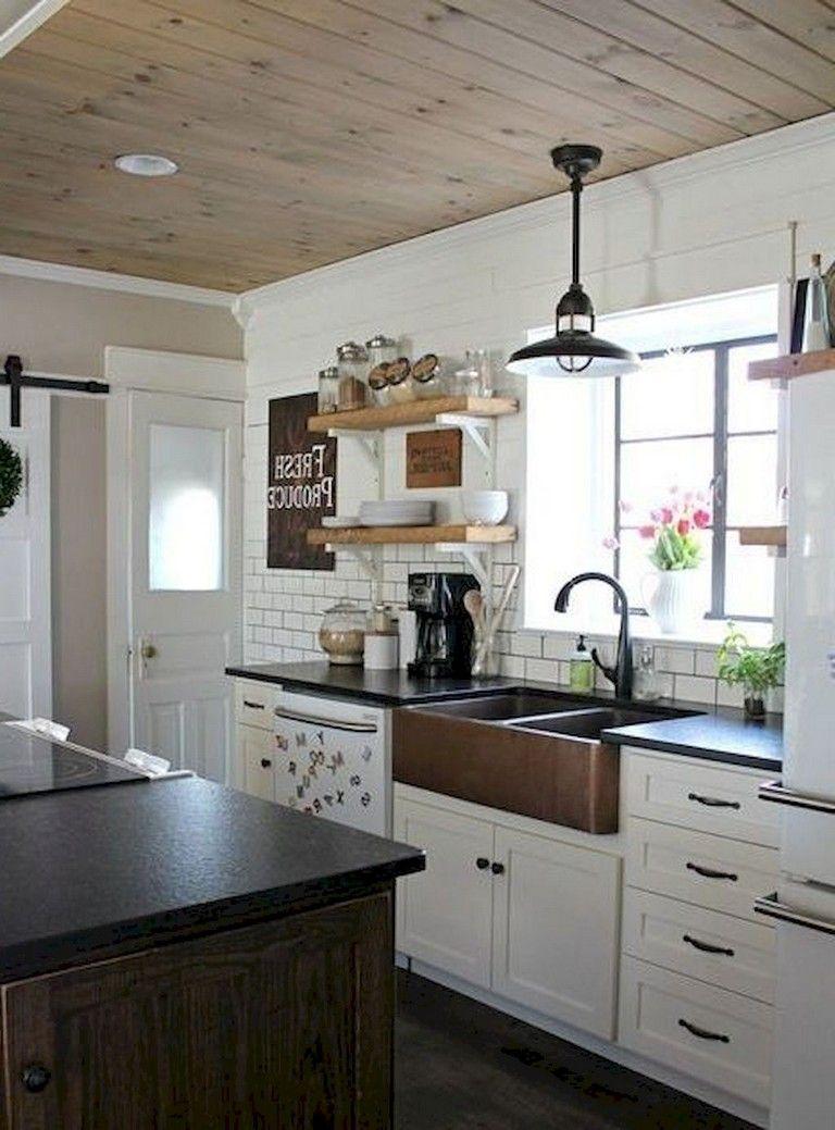 68+ Top Modern Farmhouse Kitchen Sink Ideas Kitchen sink