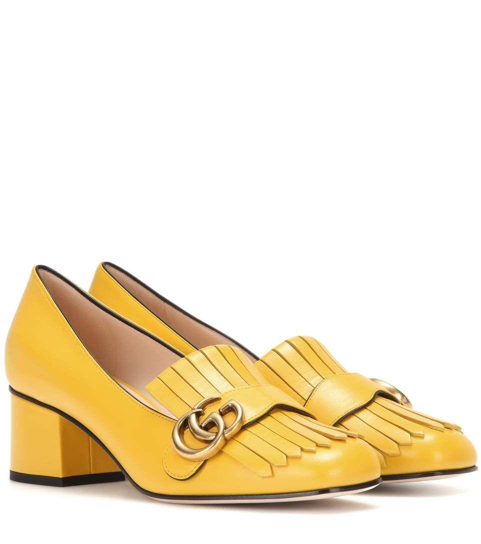 06e392388bb0 GUCCI Leather Loafer Pumps.  gucci  shoes  pumps