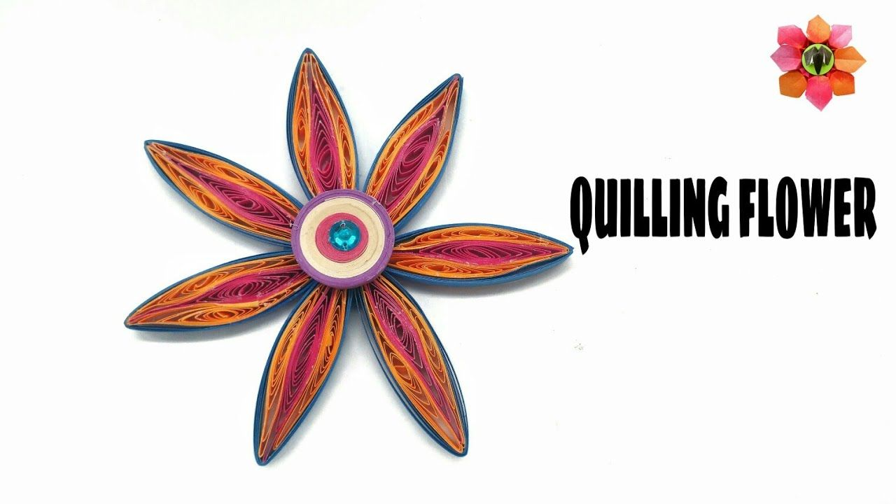 Quilling wedding decorations october 2018 Quilling Flower Design   DIY Tutorial    Paper Flowers in