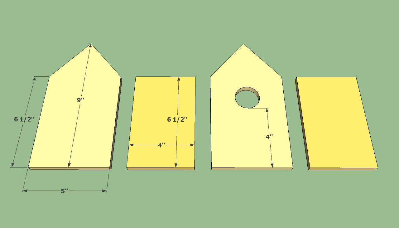 Birdhouse plans free Bird house plans free, Bird house