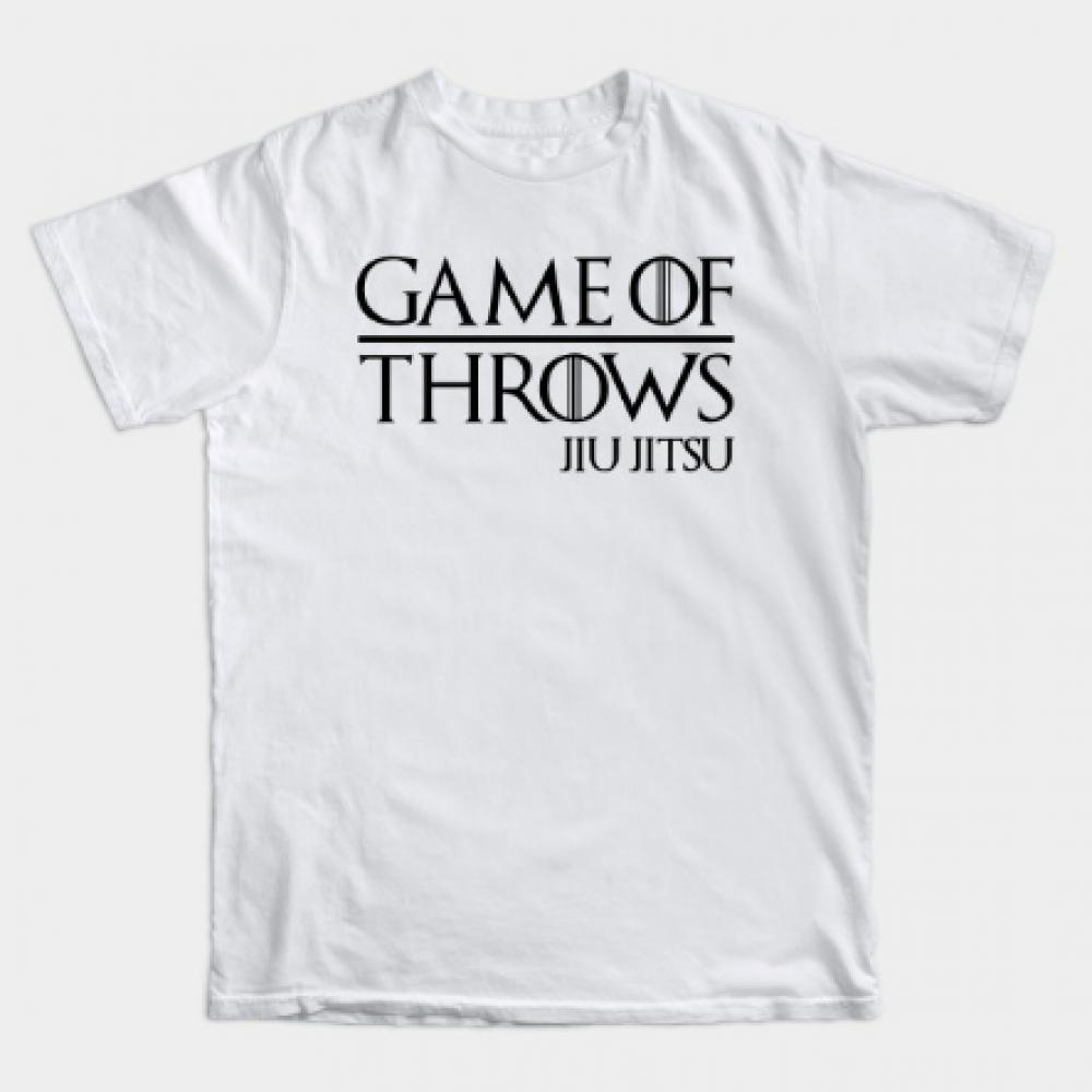 JIU JITSU - GAME OF THROWS Tee Shirt JIU JITSU - GAME OF THROWS Tee Shirt //Price: $13.50 //