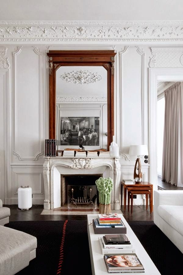 Every Home Should Have Fireplace Modern French Interiors